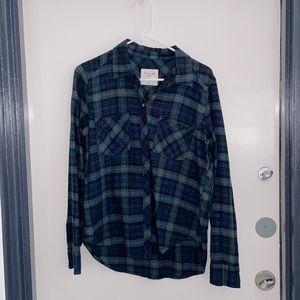 Abercrombie Fitch plaid shirt size Large